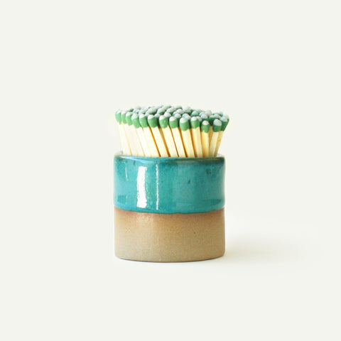 Turquoise Ceramic Match Striker