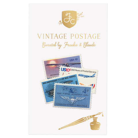 Aviation + Air Mail Vintage Postage