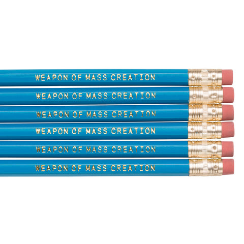 Weapon of Mass Creation pencils