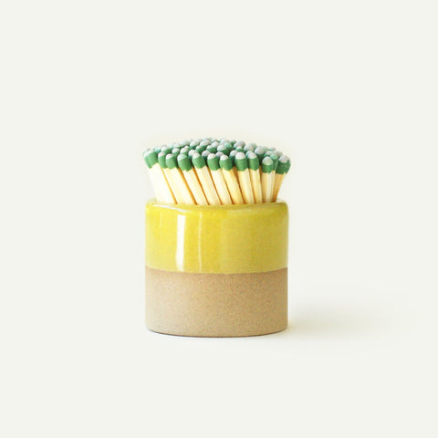 Yellow Ceramic Match Striker