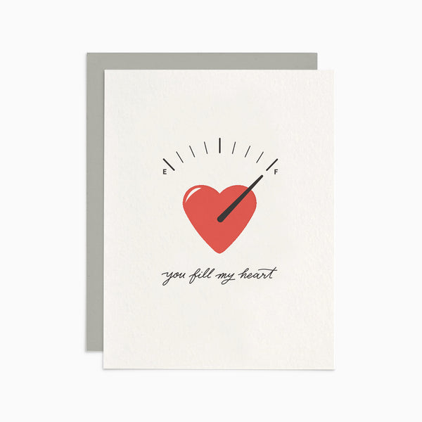 You Fill My Heart Card