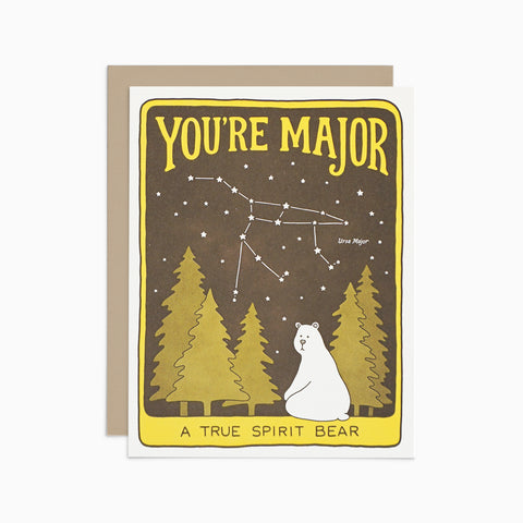 You're Major Card