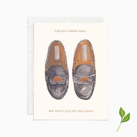 You're a Great Dad - Plantable Card