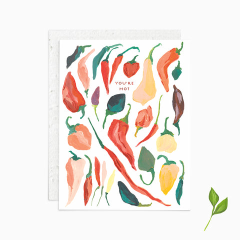 You're Hot - Plantable Card