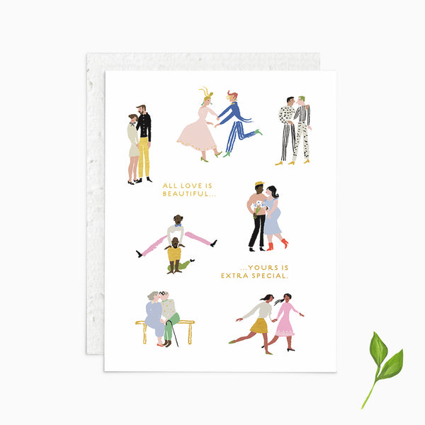 Your Love is Extra Special - Plantable Card