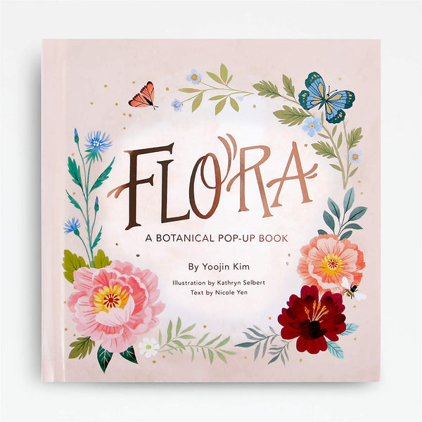 Flora Pop-Up Book