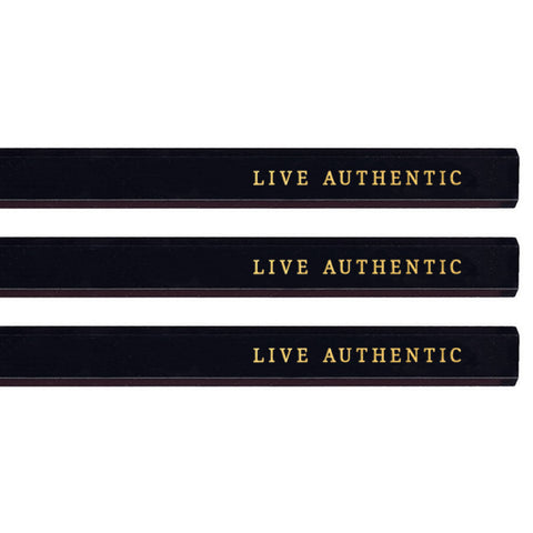 Live Authentic carpenter pencils