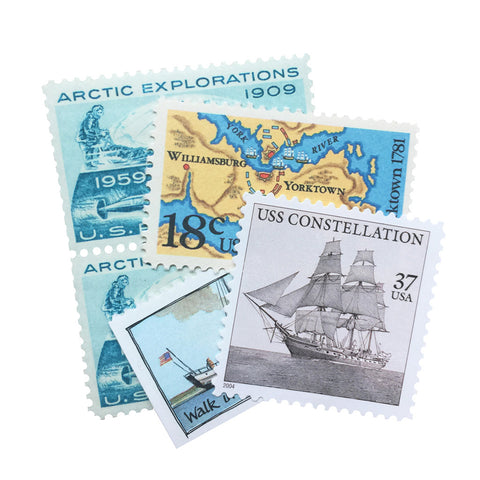Nautical Vintage Postage