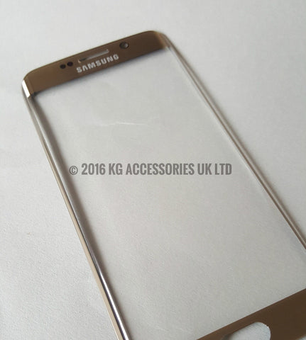 Samsung Galaxy S6 Edge PLUS Replacement Screen Front Glass Repair Kit GOLD