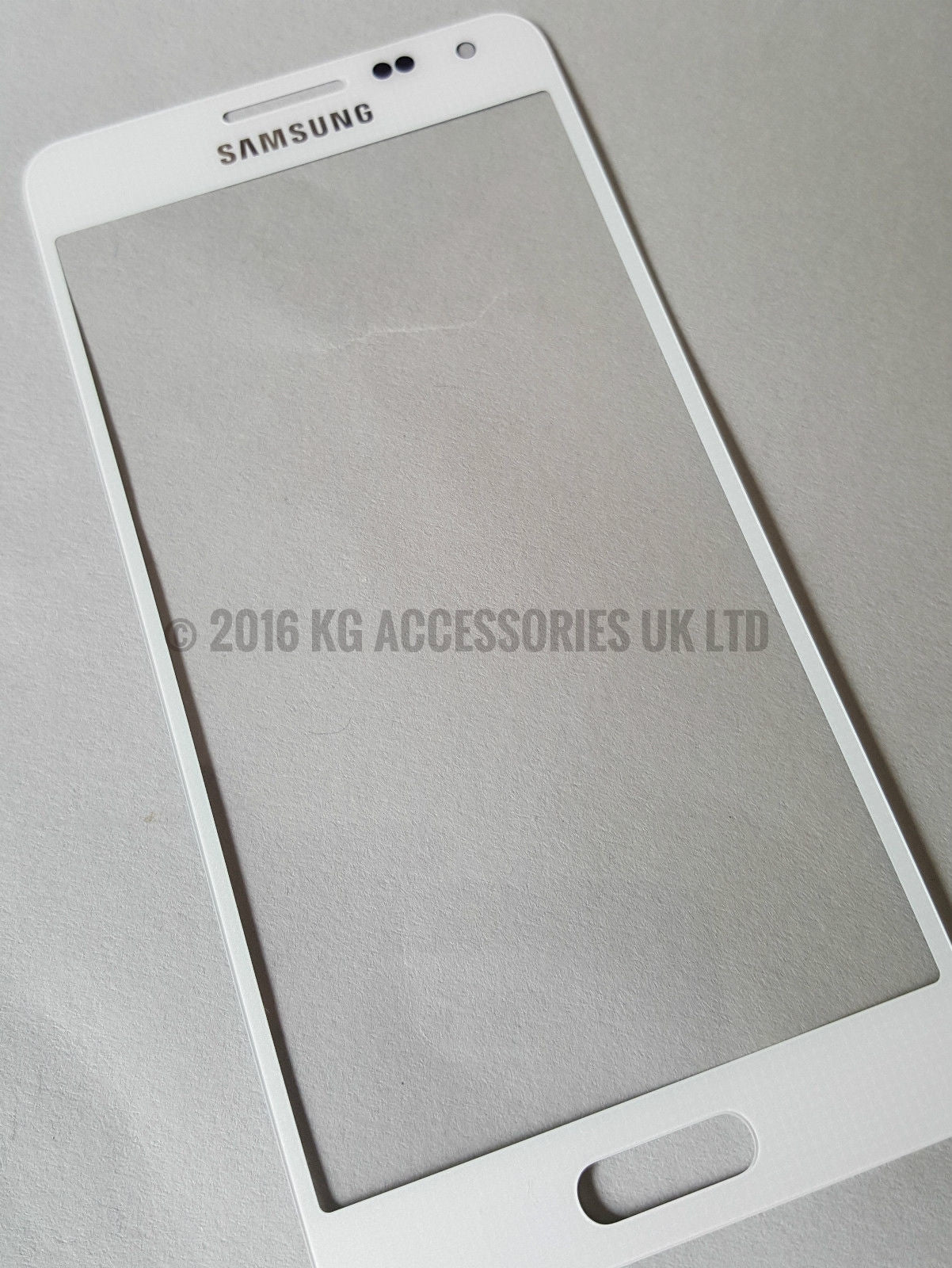 Samsung Galaxy Alpha G850 Front Glass Screen Replacement Repair Kit White