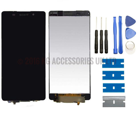 "Sony Xperia Z5 5.2"" E6603 E6653 E6683 Replacement LCD Touch Screen Digitizer BLACK"