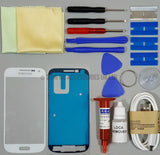 Samsung Galaxy S4 mini i9190 Front Glass Screen Replacement Repair Kit WHITE