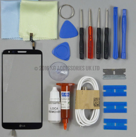 LG G2 Replacement Screen Digitizer Touch Screen Repair Kit