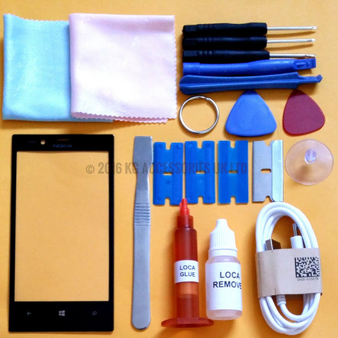 Nokia Lumia 720 Replacement Screen Genuine Glass Repair Kit