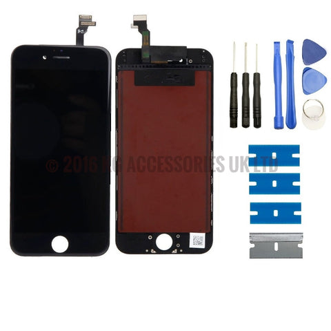 iPhone 6 Complete Replacement LCD Touch Screen & Digitizer Display BLACK