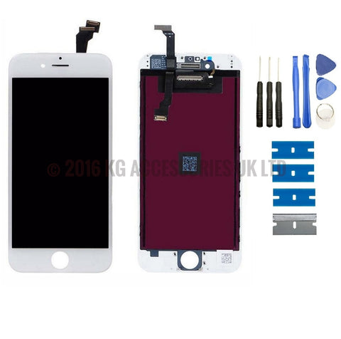 iPhone 6 Complete Replacement LCD Touch Screen & Digitizer Display WHITE
