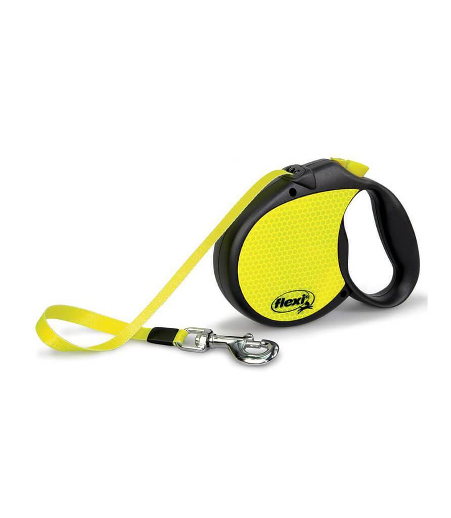Neon Retractable Lead