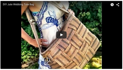 Video - DIY Jute Tote Bag