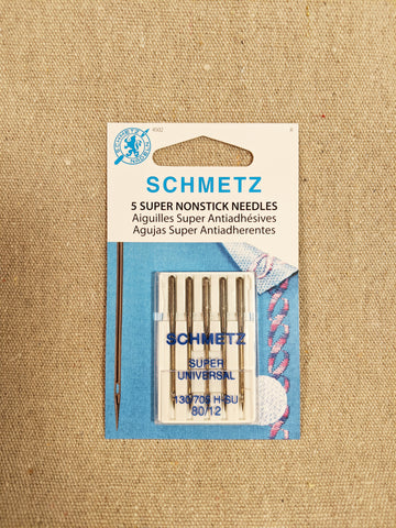 Schmetz Super Non-Stick Needle / Size 80/12