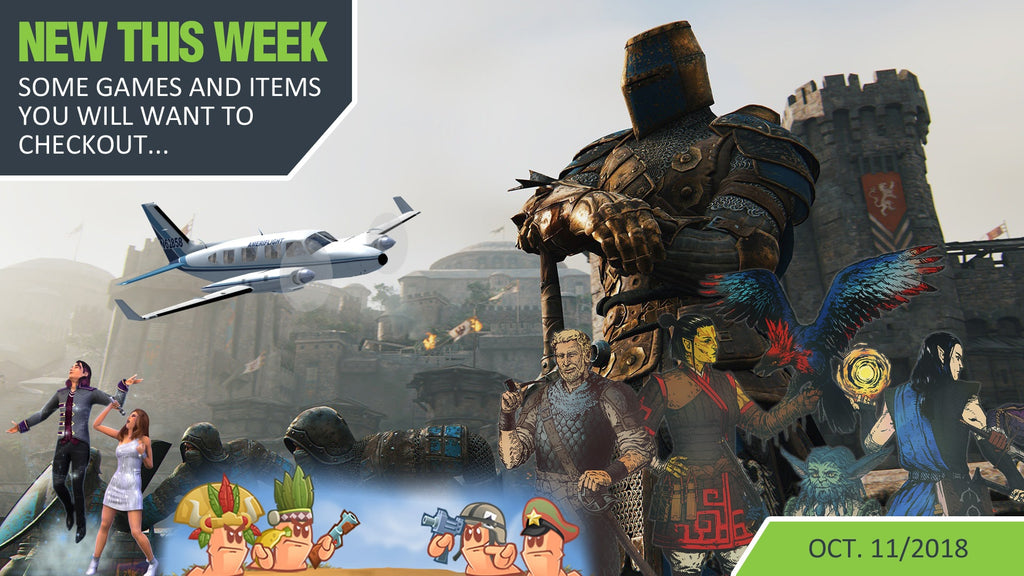 Battling Worms, Deadfire Islands, Vikings, Samurai and a hidden discount?!