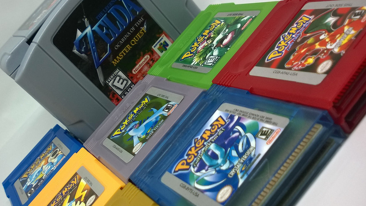 New N64 and Game Boy Repros Just Arrived!