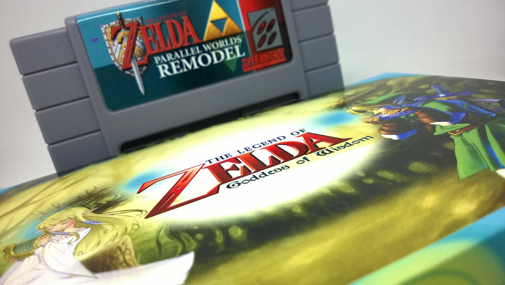 Zelda Goddess of Wisdom Back in Stock + New SNES Product Announcement!