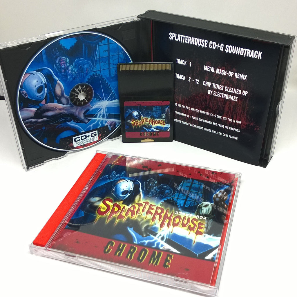 Splatterhouse Chrome TurboGrafx-16 Repros Have Arrived!