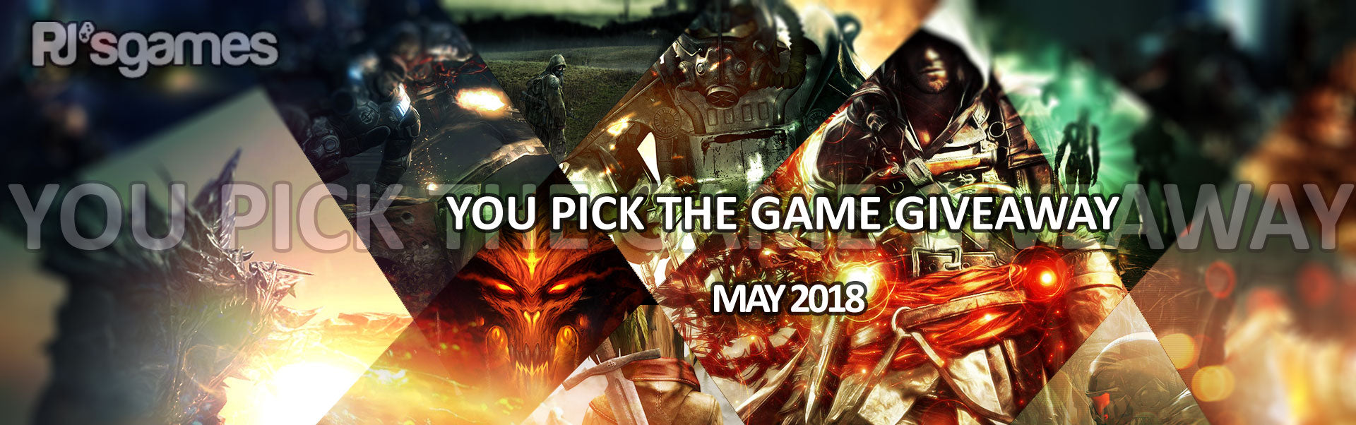 "PJ's Games ""You Pick The Game"" Giveaway for May 2018"