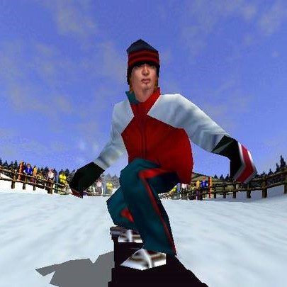 1080° Snowboarding Nintendo 64 N64 Game - Screenshot