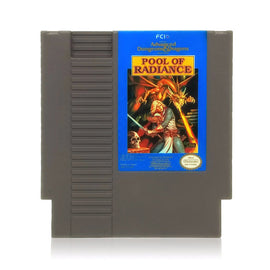Advanced Dungeons & Dragons: Pool of Radiance NES Nintendo Game