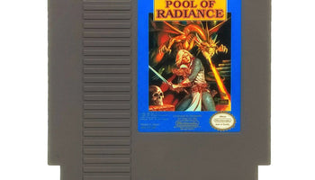 Advanced Dungeons & Dragons: Pool of Radiance NES Nintendo Game - Cartridge