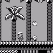 Adventure Island Nintendo Game Boy Game - Screenshot 2