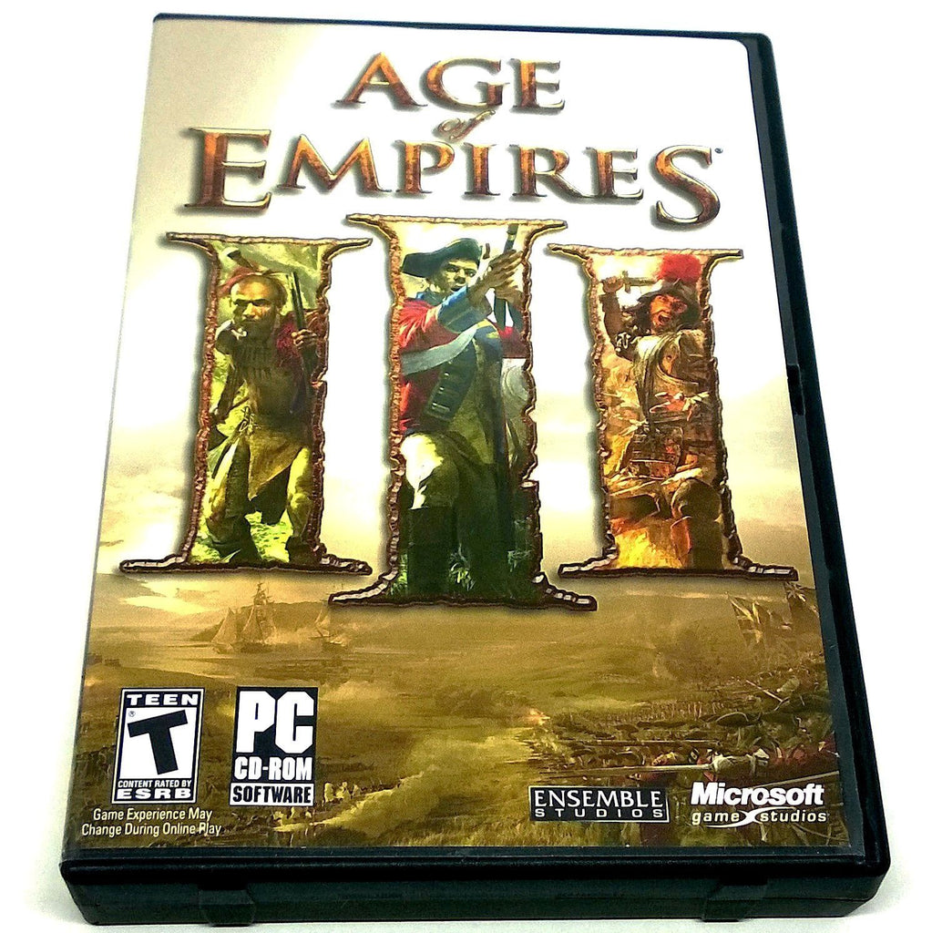 Age of Empires III for PC CD-ROM - Front of case