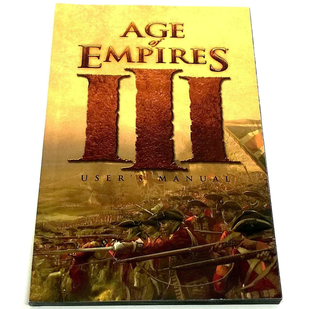 Age of Empires III for PC CD-ROM - Front of manual