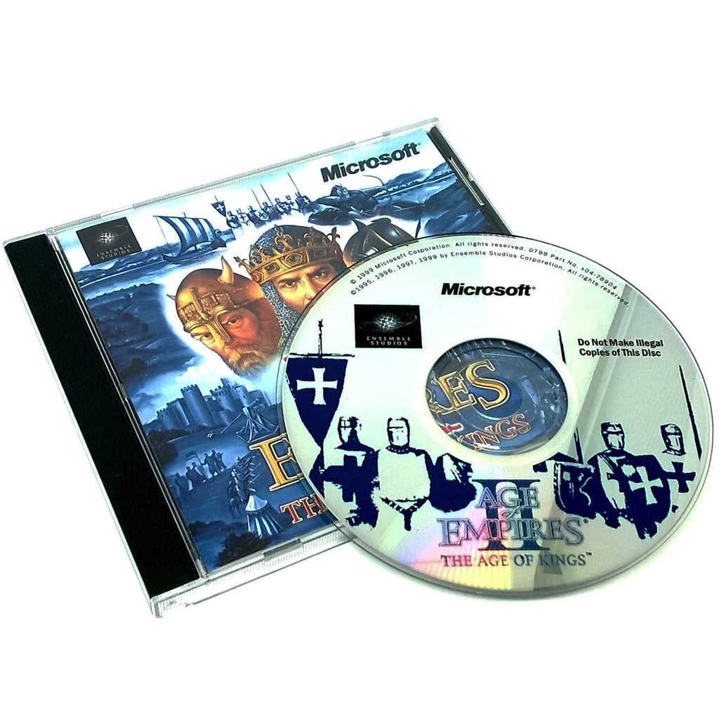 Age of Empires II: The Age of Kings for PC CD-ROM