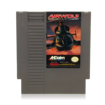 Airwolf NES Nintendo Game - Cartridge