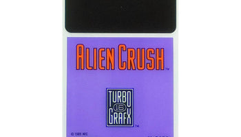 Alien Crush TurboGrafx-16 Game