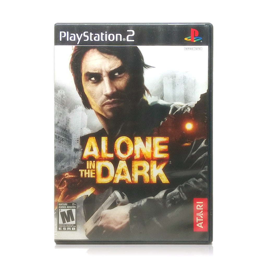 Alone in the Dark Sony PlayStation 2 Game - Case