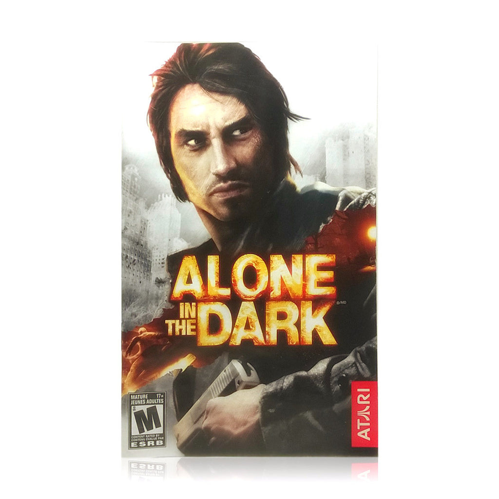 Alone in the Dark Sony PlayStation 2 Game - Manual
