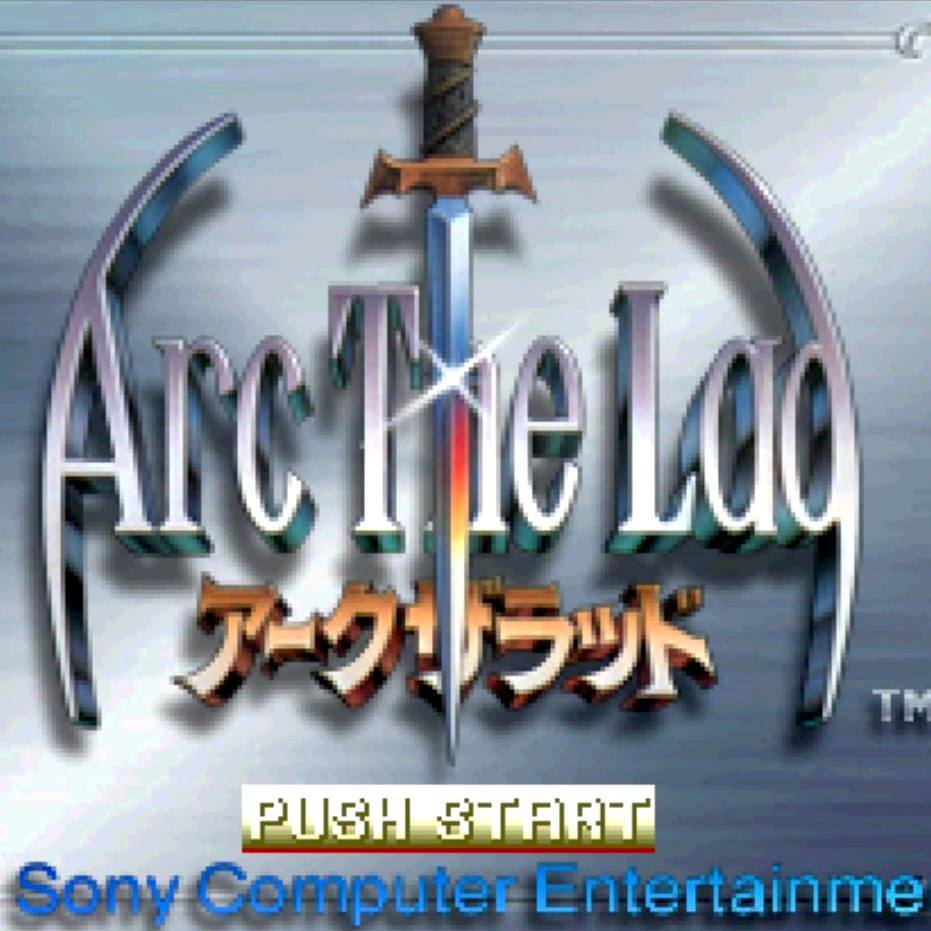 Arc The Lad Import Sony PlayStation Game - Titlescreen