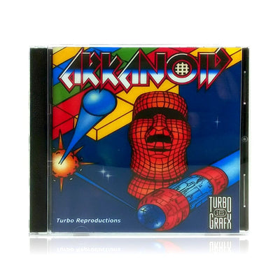 Arkanoid Reproduction TurboGrafx-16 Game - Case