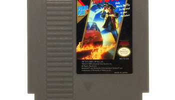 Back to the Future NES Nintendo Game - Cartridge