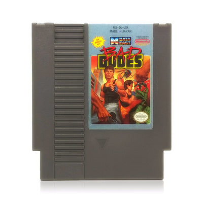 Bad Dudes NES Nintendo Game - Cartridge
