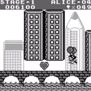 Balloon Kid Nintendo Game Boy Game - Screenshot