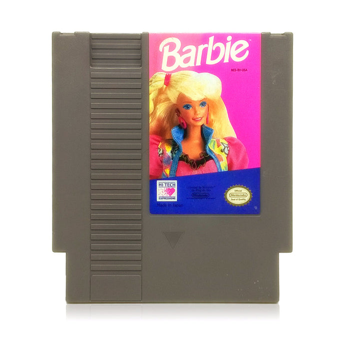 Barbie NES Nintendo Game - Cartridge
