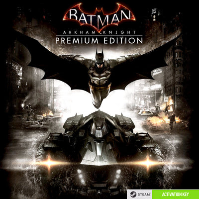Batman: Arkham Knight - Premium Edition PC Game Steam Digital Download