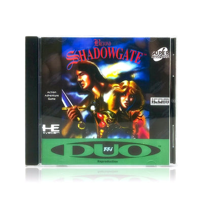 Beyond Shadowgate Reproduction TurboGrafx-16 CD Game - Case