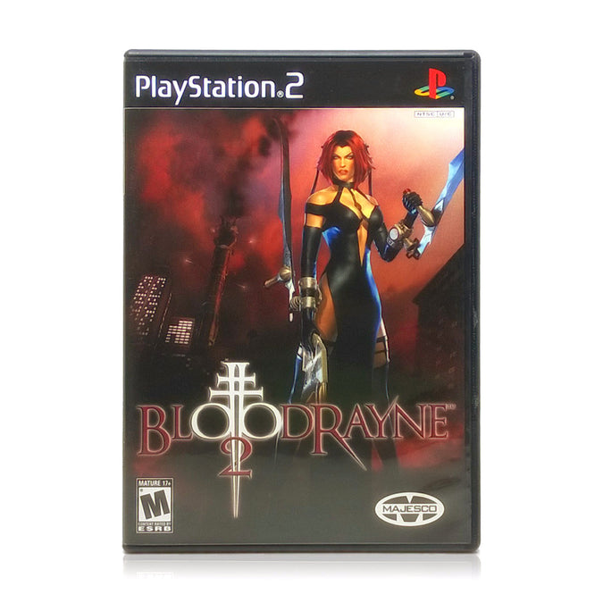 BloodRayne 2 Sony PlayStation 2 Game - Case