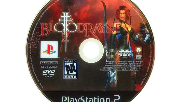 Bloodrayne 2 Sony Playstation 2 Game Pj S Games