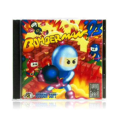 Bomberman '93 Reproduction TurboGrafx-16 Game - Case